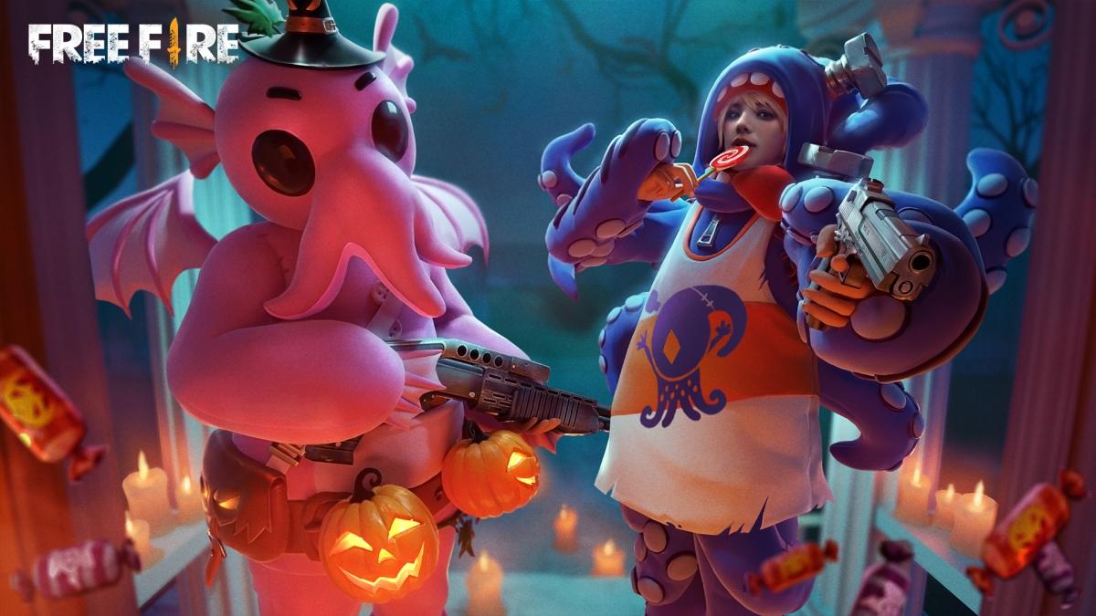 Halloween dulce rafaga llega a Free Fire