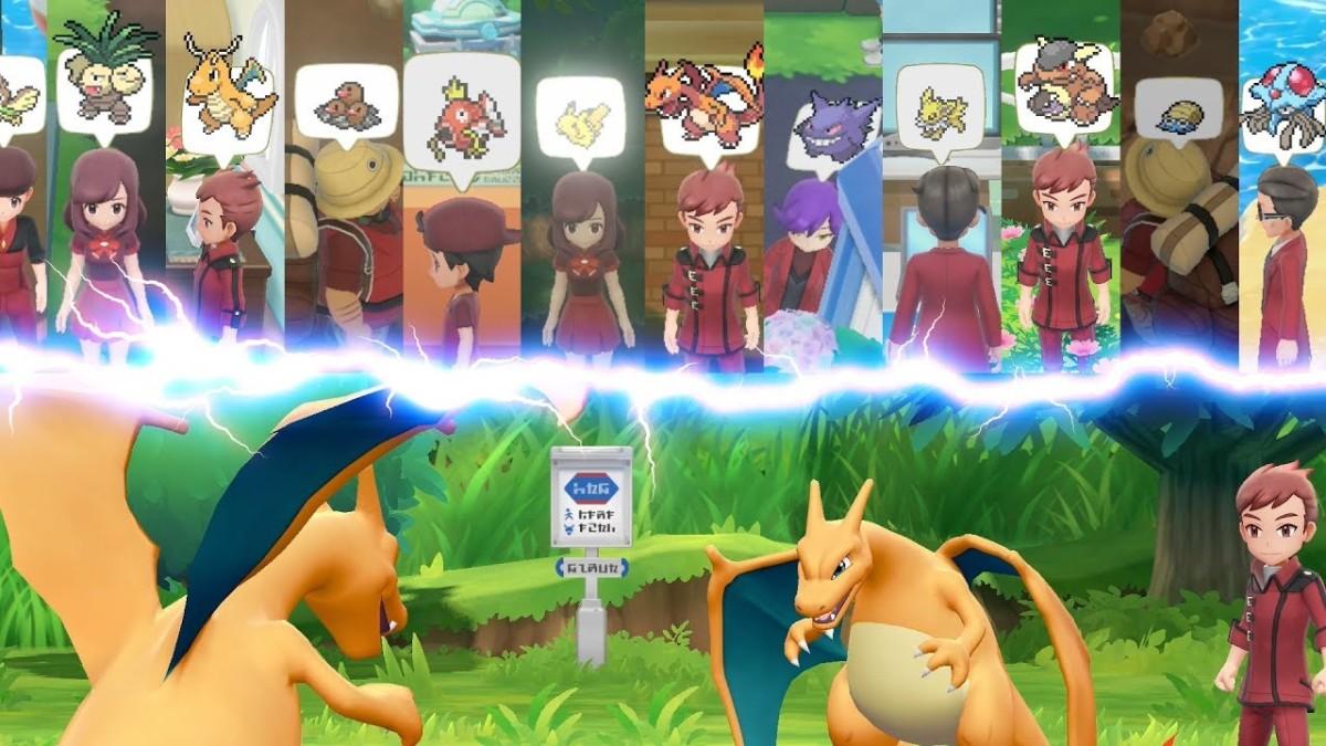 """Revelado nuevo tráiler sobre los """"Entrenadores Maestros"""" de Pokémon Let's Go"""