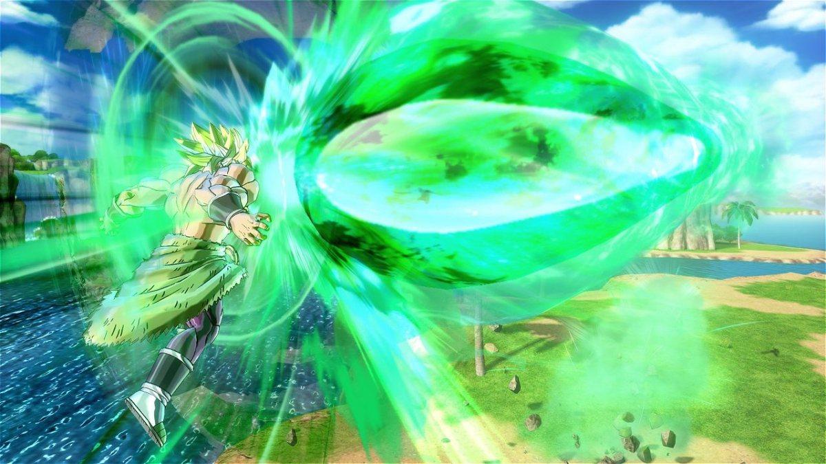 Primeras capturas de pantalla de Broly (Super Saiyan Legendario) en Dragon Ball Xenoverse 2