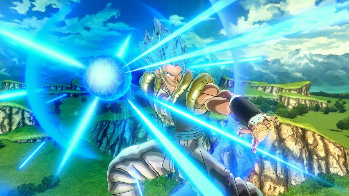 Dragon Ball Xenoverse 2 muestra a Gogeta en accion