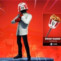 KFC podría lanzar un skin especial de Fortnite